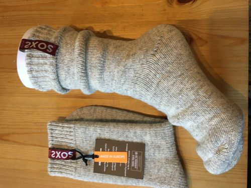 SOXS 3147Frauenwadenschafswollsocken Power Wool -20°,Grösse 37-41,Label Power Red